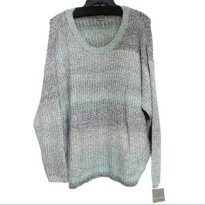 Falls Creek Chunky Knitted Ombré Sweater